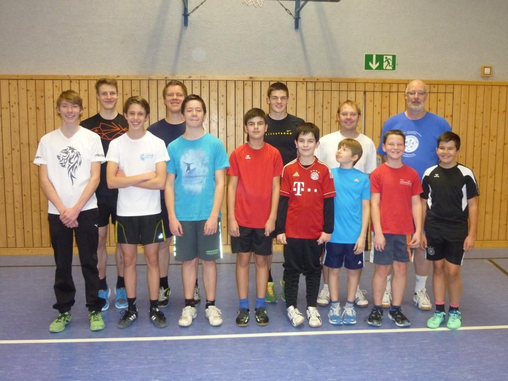 Leichtathletikgruppe von Kay Hemberger