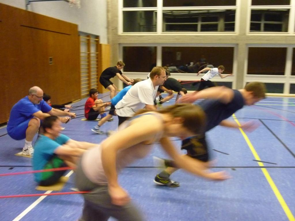 Training am Freitag Abend bei Kay Hemberger